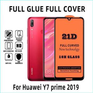 21D Voll Kleber Proof gehärtetes Glas Film Premium-Schirm-Schutz-Schutz für Xiaomi Redmi Hinweis 9 Pro Max 8 8A 7 7A 2 Poco x2 K30 K20