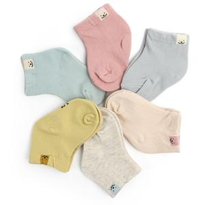 Spring Autumn New Cotton Fashion Cute Unisex Baby Newborn Fresh Candy Color Baby Socks Sock