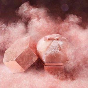 NO logo 2020 Schimmernde Flash-Body Contour Makeup Illuminator handgemachte Plüsch Bronze Highlighter Kugel Puff mit einem Gehalt Glitter puff