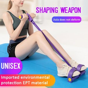 Multi-Funktions-Puller Pedale elastische Beine Pull Spannseil Rumpfbeuge Bauch Fitness Übung Body Shaping Thin Bauch Yoga Gürtel