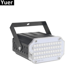 2019 Alta Qualtiy 42 LED SMD 5050 Led Luce Stroboscopica Rotante Voice Activated Luci LED Stage Festa Festa Disco Stroboscopio Lampadina