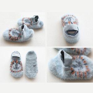 Baby Girls Boys Fashion Cute Cartoon Children Short Socks Kids Soft Cotton Breathable Infant Non-slip Floor Socks For 1-3 Years