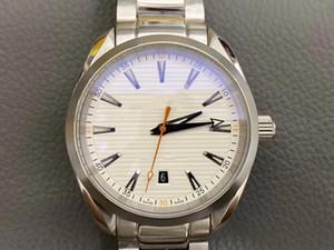 Super Montre de luxe 8500 Полностью автоматические механические мужские часы 316L тонкий сталь сапфировый стекло 41 мм * 13,7 мм супер светящаяся функция
