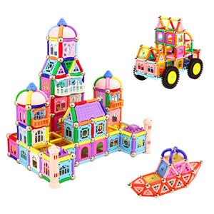 438 шт. Магнит игрушка строительные блоки набор интеллект игрушка набор образования руководство строительство магнитные строительные блоки сочетание детский подарок