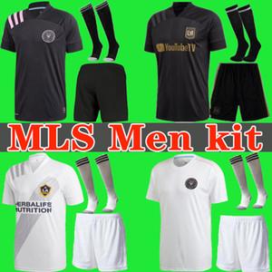 2020 2021 INTER MIAMI Beckham Black socer jersey 20 21 Los Angeles FC LAFC Carlos Vela LA Galaxy Chicharito Football Shirt men kits uniforms
