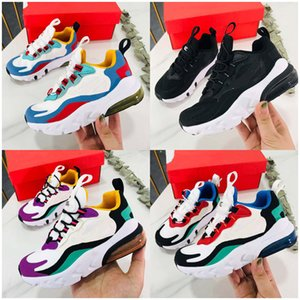 2020 New React Kids Shoes Boy Girls Big Baby tn Sneakers Running Shoes Bright Violet Toddler Children Trainers
