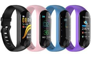 Sport Smart Armband 0,96 Zoll TFT IPS Farbdisplay Sport Armband Herzfrequenz-Blutdruckmessgerät Smart Fitness Track Bracele