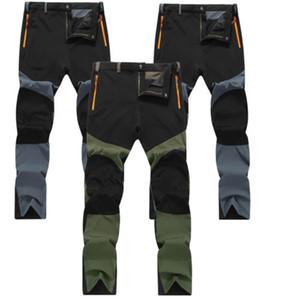Imperméables à l'eau extérieure Mens Camping tactique Cargo Pantalons Pantalon de combat Casual Hot