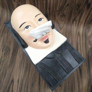 Creative Easter Stone Portrait Tissue Box Paper Towel Box Novelty Home Decor