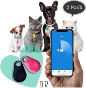 Water Drop GPS Tracker Mobile Phone Bluetooth Pets Smart Mini Two-way Alarm Pet Child Anti-lost Key Chain Hunting Dog Tracker
