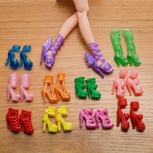 Бесплатная доставка игрушка 20 кукла обувь кукла высокие каблуки кукла Кристалл обувь Аксессуары Аксессуары подходит для 30 см куклы