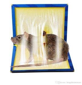 Erros pegajosa mouse Conselho Mousetrap rato Rodent Glue Traps Board Super Sticky Serpente de rato Board Household Ratos de Controle produtos BH1118 TQQ