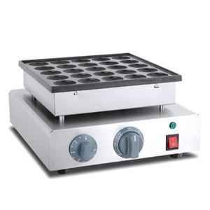 LIVRAISON GRATUITE antiadhésives électrique Mini Poffertjes Grill machine Waffle machine néerlandaise Poffertjes crêpes Maker Machine de plaque Baker