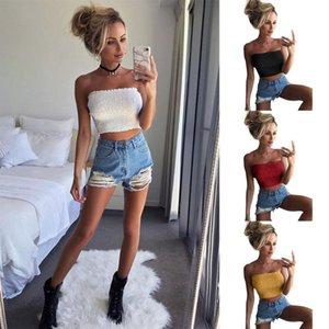 Kadın elastik meme-silme ve göğüs-sarma Kadınlar Straplez Elastik Boob Saç bandı Tüp Sütyen İç Meme Wrap Tops