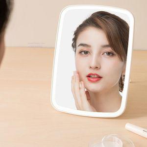 Original Xiaomiyoupin LED Makeup Mirror Touch-sensitive Control LED Natural Light Mirror Fill Adjustable Angle Brightness Lights