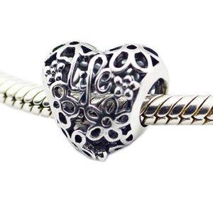 Весна очарование кулон любовь поклонники BRIDESMAID воды радуга сердце обещает соответствовать Pandora браслета 925 серебряных бус DIY ювелирных изделий