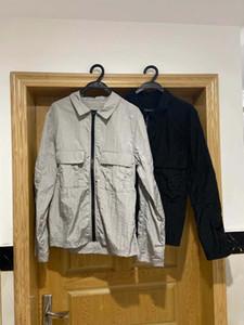 USA vestes marque de mode pierre pour hommes confortable nylon importés de haute qualité OEM bouton Voyage section mince en plein air manteau imperméable pour les hommes