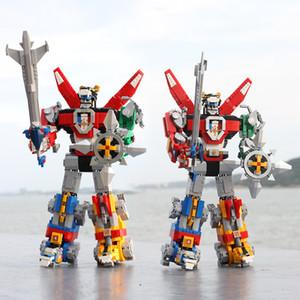 US UE em stock 16057 Idéias Série Defender Voltron do universo Modelo Building Block Bricks Brinquedos suportados 21311