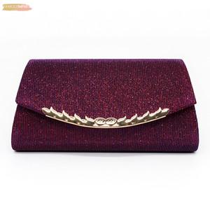 Woman Evening Bag 2020 Handbags Party Banquet Glitter Women Bags Brand Wedding Clutches Shoulder Bag Purse Bolsas Mujer