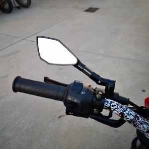 لCNC الألومنيوم للدراجات النارية الرؤية الخلفية مشاهدة المرآة الجانبية العالمي لهوندا KAWASAKI YAMAHA KTM DUCATI APRILIA