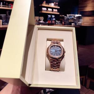 Orologio di lusso erkek çelik bant izle Cal.324 otomatik sarma hareketi hareketi saatler lüks erkek saatler moda saatler