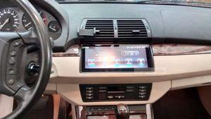 10.25inch Android9.0 RAM 4G ROM 32G DVD do carro para BMW Série 5 E39 X5 E53 M5 com áudio do carro multimídia de navegação automóvel vídeo strero