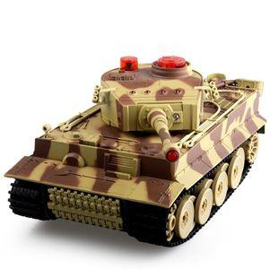 1/24 RC serbatoio Crawler IR giocattoli di telecomando a raggi infrarossi di simulazione Cannon Emmagee RC di combattimento da regalo Battle Tank giocattolo RC auto per bambini