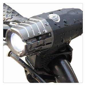 Waterproof Two Usb Rechargeable Bike Light Super Bright Front Light And Led Bike Tail Light To Install Remove For Safe Cycling Flashlight