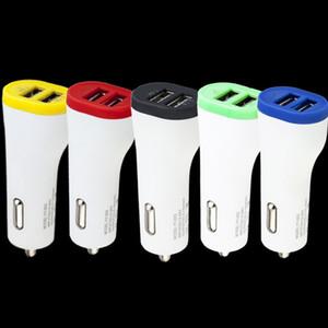 Doppio porte USB 2.1A + 1A caricatore dell'automobile adattatore di alimentazione auto per Iphone Samsung gps MPE pc