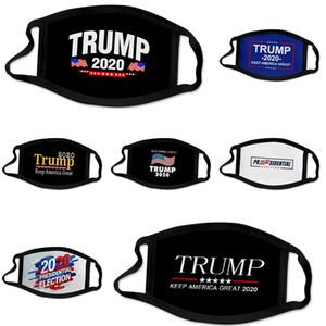 Rápido frete grátis 50 1pcs 3 Camada Máscaras Earloops casa confortável Boca Ski Máscara Designer Trump 7.339.044 Em armazém # 215