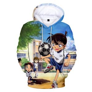 탐정 코난 3D 남성 / 여성 / 어린이 새로운 도착 패션 swearshirt 탐정 코난 3D 후드 아이 캐주얼 상단 후드