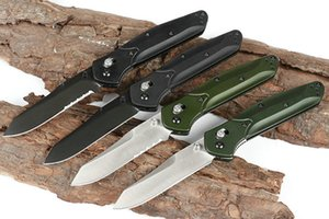 New Butterfly 940 Pocket Folding Knife D2 Black   Satin Blade CNC T6061 Handle EDC Knives With Original Box