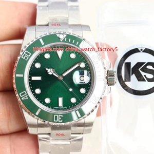 3 цвета лучшее качество Канзас производитель 904 сталь суб 40мм 116610-97200 116619 керамических коэф Азии.3135 движение автоматические мужские часы мужские часы