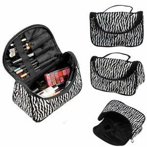 Designer-Voyage Cosmetic Stockage MakeUp Sac pliant Hanging Toiletry Wash Organisateur Pouch