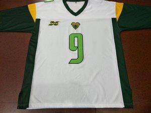 Donna-Uomo della gioventù XFL Donteea Dye Vipers 11 Aaron Murray 9 dimensioni Quinton Fiori Jersey s-4XL o personalizzato qualsiasi nome o numero di maglia