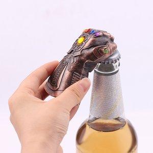 جديد thanos القفاز قفاز النبيذ البيرة فتحت زجاجة الصودا الزجاج قبعات المزيل أداة جديد وسيم قبضة فتاحة بار أدوات المنزل استخدام DLH283