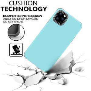 iPhone 11 Pro Max XR XS MAX 8 7 Samsung S10 Artı Not 10 Artı için çift Katmanlar Hibrid Zırh Banliyö Defender Kutuları