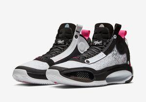 высокое качество AJ34 мужские ботинки баскетбола 34 XXXIV Digital Pink AJ 34 тренеров Спортивный магазин с коробкой размера Бесплатная доставка 7.12