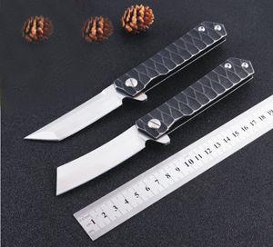 Couteau pliant Kwaiken Roulement À Billes Flipper tactiques couteaux de survie tanto lame D2 Japon style de rasoir extérieur EDC Outils de Poche