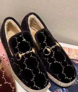 Designer lana mocassini Mules donne Princetown piatto scarpe casual Fibbia in metallo vintage autentico r05 Espadrillas signore di scarpe in pelle di lusso