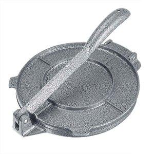 Katlanabilir Tortilla Makinası Basın Alüminyum Home Kitchen Un Mısır Pişirme Basın Maker DIY Pie Araçları Bakeware alet 20cm 8 İnç T200524