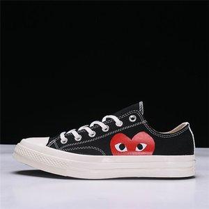 2020 VANS CDG Comme des Garçons cuore di amore Occhi scarpe di tela classico 1970 Scarpe casual di alta cima Basso Skate Formazione Sneakers