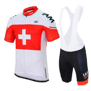 Iam Mens Pro Cycling Джерси комплект с коротким рукавом Биб шорты. Летний велосипед Велоспорт одежда велосипед одежда Рубашки Ropa Ciclismo Mtb