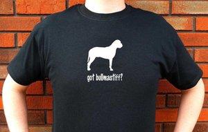 Hot 2020 Gráfico Estilo Verão Ment shirt Moda Got Bullmastiff Dog Bullmastiffs T-shirt engraçado do projeto bonito sua própria camisa