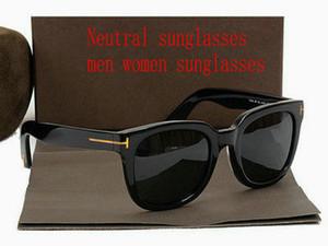 Высокого качество нового способа винтажных очков женщины дизайнер бренда мужской случайные очки женских солнцезащитные очки с корпусами и боксировать Нейтральные 202