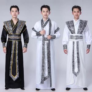 Vêtements traditionnels asiatiques danse chinoise Tenues Festival de Costume National Ancient CosplayTangsuit Dynasty Mens Wear étape