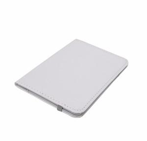 En gros 10 pcs / lot DIY sublimation blanc presse de la chaleur Peinture Couverture Souple Passeport Titulaire Couverture passeport Fournitures Cadeau