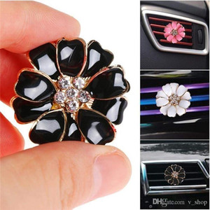 Newest Car Perfume Clip Home Essential Oil Diffuser For Car Outlet Locket Clips Flower Auto Air Freshener Conditioning Vent Clip