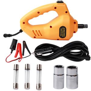 Clé à choc électrique ROGTZ 1/2 pouce 350N.M 12V Réparation Clé à chocs pour clé de voiture Pistolet bleu / rouge / orange