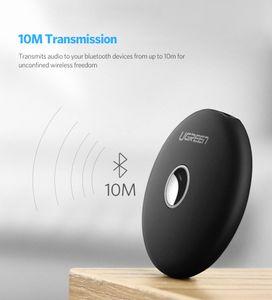 Free shipping Bluetooth Transmitter Receiver aptx LL Adapter 3.5mm jack Audio PC Music Receptor AUX Bluetooth 4.2 3.5 mm
